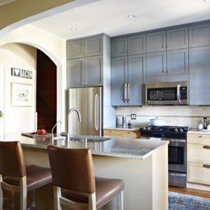 Kensington Avenue Kitchen and Living Room | Lia Lash Designs